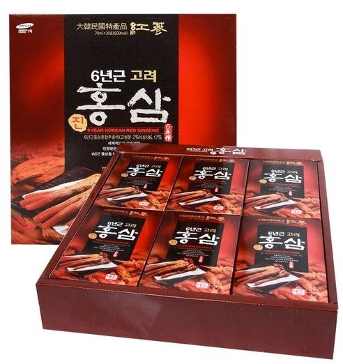 Nước Hồng Sâm TEEUNG Hàn Quốc 30 gói chính hãng