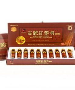 Nước Hồng Sâm linh chi KGS Hàn Quốc loại 10 ống chính hãng