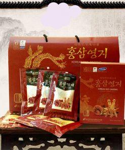 Nước hồng sâm linh chi Pocheon Hàn Quốc cao cấp thượng hạng hộp 30 gói chính hãng
