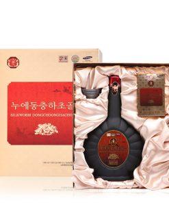 Nước uống đông trùng hạ thảo Hàn Quốc Silkworm Dongchoonghacho Gold chai 900ml chính hãng