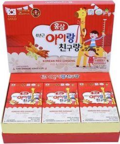 Nước uống hồng sâm trẻ em Red Ginseng Kid and Friend chính hãng