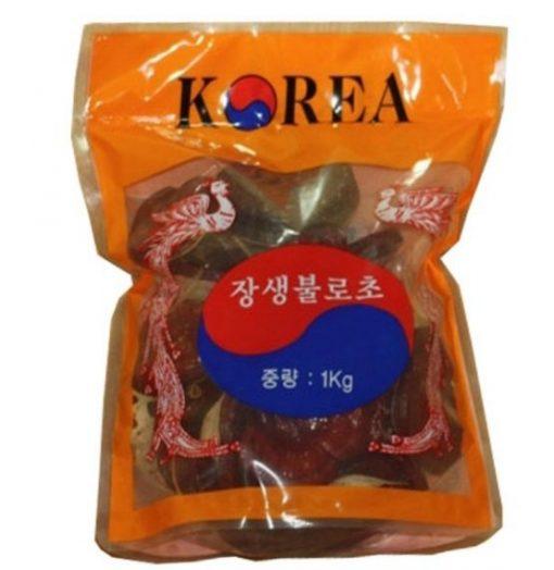 Nấm Linh Chi Đỏ Có Chân Phượng Hoàng Hàn Quốc chính hãng 1kg