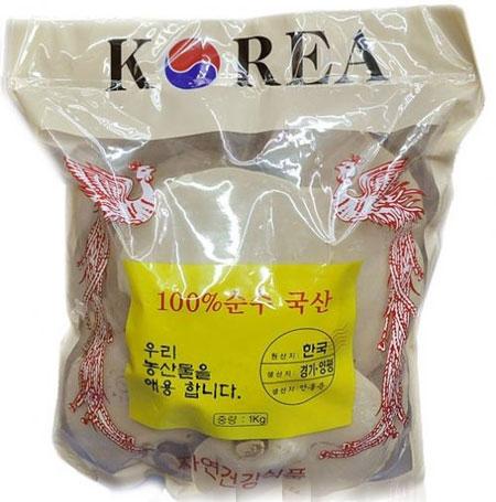 Nấm linh chi đỏ Hàn Quốc túi vàng chính hãng 1kg