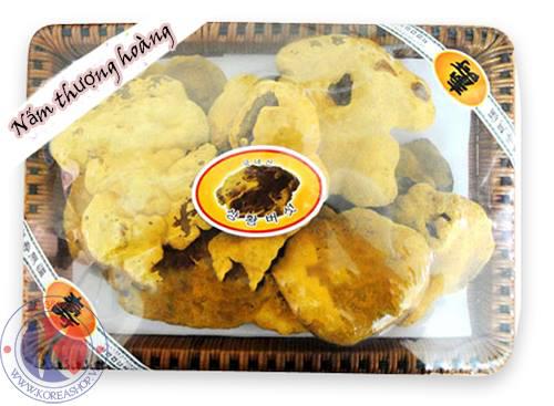 Nấm thượng hoàng vàng khay Sang Hwang Hàn Quốc chính hãng 1kg