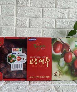 Táo đỏ sấy khô Hàn Quốc loại 1 kg chính hãng