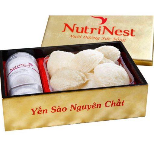 Tổ Yến Rút Lông Nguyên Tổ 100g, Tổ Yến xào tinh chế Nutri Nest