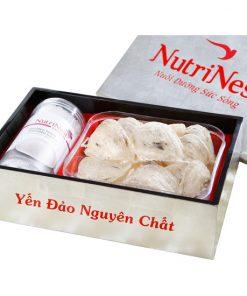 Tổ Yến Sào Đảo Thiên Nhiên Thô 100g, Yến đảo Nutri Nest chính hãng