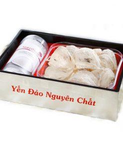 Tổ Yến Sào Hang Nhân Tạo Thô 100g Yến hang nhân tạo Nutri Nest