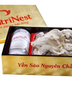 Tổ Yến Sào Thô Còn Lông loại 100g yến sào Nutri Nest