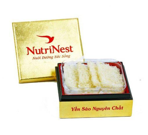 Tổ Yến Sào Tinh Chế Sợi loại 100g, Tổ yến xào Nutri Nest chính hãng