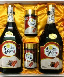 Tinh Chất Hồng Sâm Nấm Thượng Hoàng Hàn Quốc chính hãng 1000ml x 2 Chai