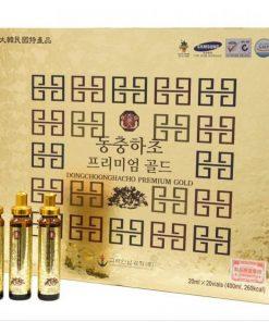 Tinh chất Đông Trùng Hạ Thảo Bio-Science Hàn Quốc dạng 20 ống chính hãng
