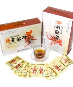 Trà hồng sâm Daedong Hàn Quốc Korea Ginseng loại 100 gói x 3g chính hãng