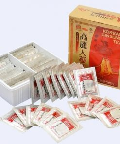 Trà hồng sâm con cò hộp Hàn Quốc Ginseng tea 100 gói chính hãng