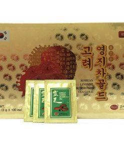 Trà linh chi đỏ KGS Hàn Quốc loại 100 gói x 3g chính hãng