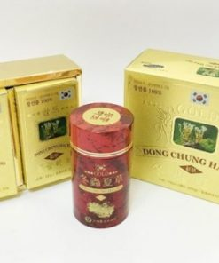 Viên Đông Trùng Hạ Thảo Hàn Quốc Samsung Red Gold Dong Choong Hacho 100g x 2 lọ