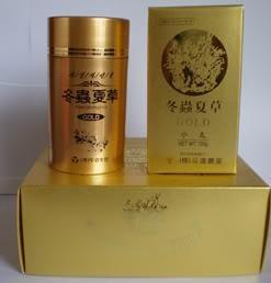 Viên đông trùng hạ thảo Hàn Quốc hộp vàng Red Gold Dong Choong Hacho chính hãng