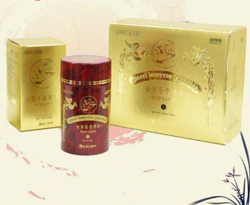 Viên đông trùng hạ thảo Hanil industry Hàn Quốc loại 200gr chính hãng