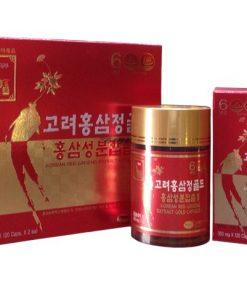 Viên hồng sâm KGS Hàn Quốc loại 2 lọ x 120 viên chính hãng