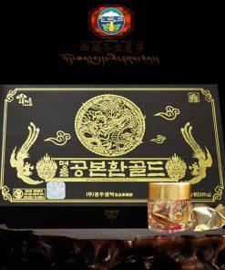 Viên hồng sâm tăng sinh lý Hàn Quốc hộp gỗ đen 60 viên Hàn Quốc