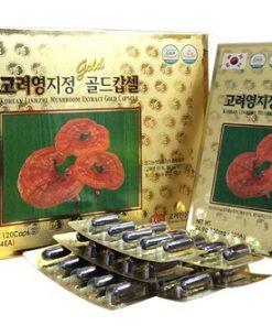 Viên linh chi KGS Hàn Quốc Linhzhi Mushroom Extract Gold