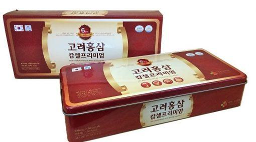 Viên nang Hồng Sâm Daedong Korea Ginseng Hàn Quốc 120 viên cao cấp chính hãng