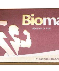 Viên sinh lý nam Biomax Biofun, Viên uống Biomax hộp 10 viên chính hãng