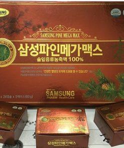 Viên tinh dầu thông đỏ Keukdong SAMSUNG PHARM Hàn Quốc hộp 120 viên chính hãng