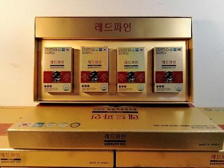 Viên tinh dầu thông đỏ Red Fine Hàn Quốc 120 viên chất lượng chính hãng
