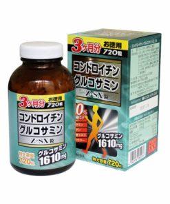 Viên uống JpanWell Glucosamine Chondroitin Z-SX, Viên xương khớp Nhật Bản 720 viên chính hãng