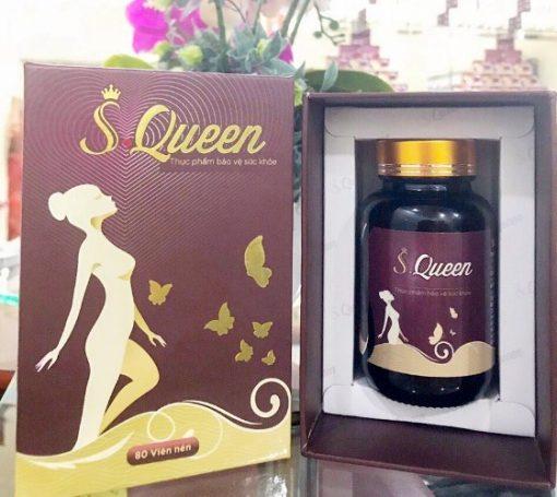 Viên uống S.Queen Biofun, tăng nội tiết tố nữ, sinh lý nữ hộp 80 viên