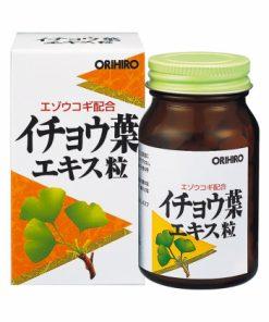 Viên uống bổ não Orihiro Ginkgo Biloba Nhật Bản loại 240 viên chính hãng