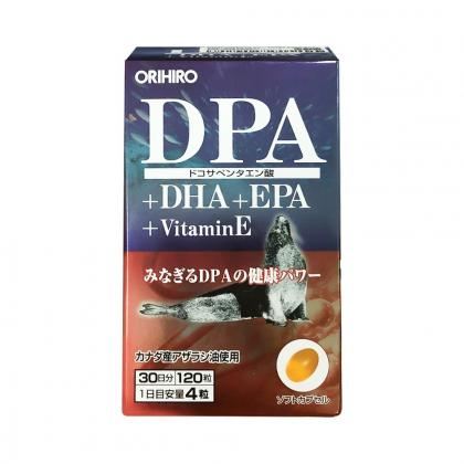 Viên uống bổ não Orihiro Nhật bản chính hãng 120 viên