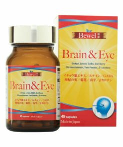 Viên uống bổ não Waki Bewel Brain & Eye 45 viên chính hãng Nhật Bản