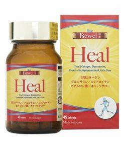 Viên uống bổ sụn khớp Waki Bewel Heal Nhật Bản 45 viên chính hãng