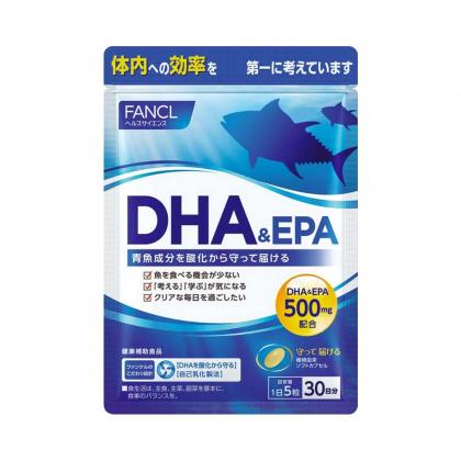Viên uống dầu cá DHA & EPA Fancl Nhật Bản loại 150 viên