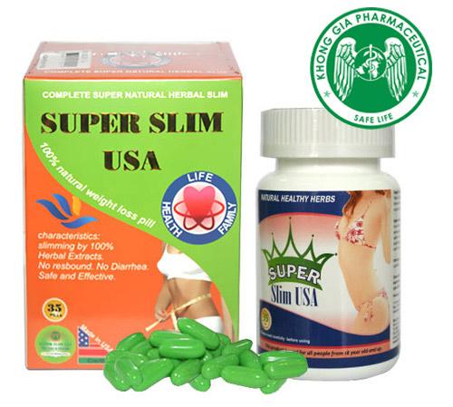 Viên uống giảm cân Super Slim USA chính hãng