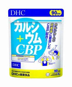 Viên uống hỗ trợ điều trị xương khớp Calcium & CBP DHC Nhật Bản 360 viên
