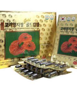 Viên uống linh chi đỏ KGC Hàn Quốc 120 viên chính hãng