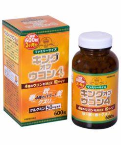 Viên uống nghệ Wellness Nhật Bản King Of Ukon 4 loại 600 viên