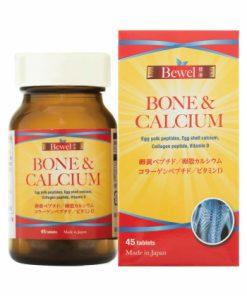 Viên uống tăng chiều cao Waki Bewel Bone & Calcium Nhật Bản 45 viên chính hãng