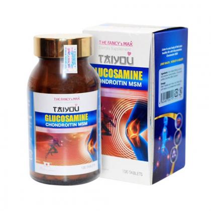 Viên xương khớp The Fancy's Max Glucosamine Chondroitin MSM, viên uống bổ xương khớp Nhật Bản 100 viên