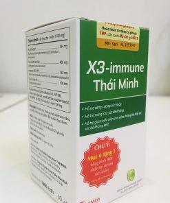 X3 Immune Thái Minh, Hỗ trợ tăng sức đề kháng