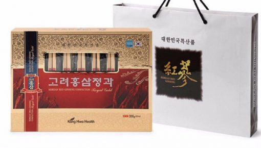 hồng sâm củ tẩm mật ong hộp 8 củ kanghwa