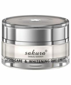 Kem trị nám Sakura ban ngày dưỡng trắng da Nhật Bản Spot Care & Whitening Day Cream 30g chính hãng