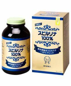 Tảo Spirulina Nhật Bản + 10% Deep Sea No.1 1500 viên chính hãng