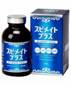 Tảo xoắn Spirulina Spimate Plus Nhật Bản hộp 600 viên chính hãng