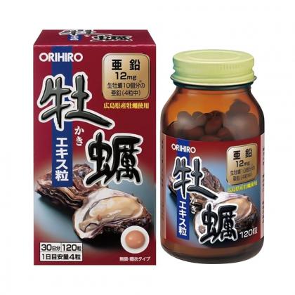 Tinh chất hàu tươi tăng cường sinh lực nam Orihiro Nhật Bản 120 viên chính hãng