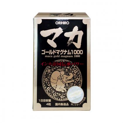 Viên sinh lý nam nữ Orihiro Maca Gold Magnum 1000 Orihiro Nhật Bản