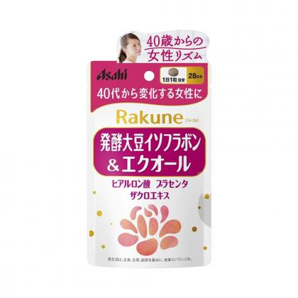 Viên uống Asahi Rakune ân bằng nội tiết tố nữ Nhật Bản 28 viên chính hãng
